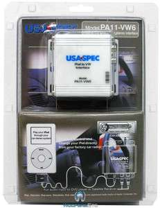 VW6 USA SPEC IPOD IPHONE TO VOLKSWAGON & AUDI CAR STEREO INTERFACE NEW