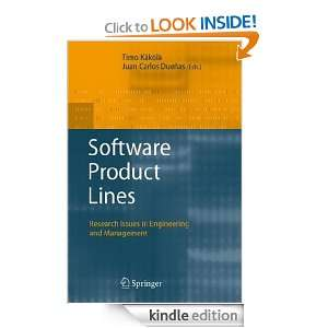 Software Product Lines Research Issues in Engineering and Management