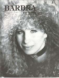Barbra Streisand Now And Then #1 Magazine 1984