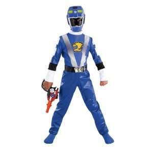 Power Rangers RPM Blue Ranger Costume Size Medium 7 8