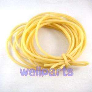 New 5M (16feet) Rubber Latex Tubing ID 5mm OD 7mm