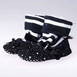 Black Mary Jane high top toddler baby girl shoes boots size 2 3 4 6 18