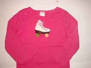 Gymboree girl 3 nwt Lots of Dots Roller Skate Shirt Top