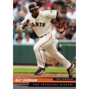 2005 Leaf Green #295 San Francisco Giants CL Sports