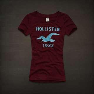 NWT Hollister by Abercrombie Women Hidden Hills Graphic Tee T Shirt