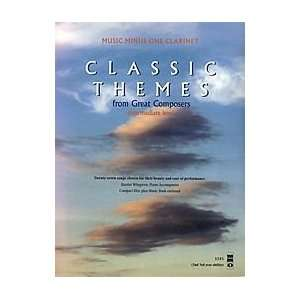 Classic Themes 27 Easy Songs 2nd Edition (Minus Clarinet