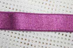 3y Hot Pink Gold Berry Blue SATIN Headband Elastic 3/4
