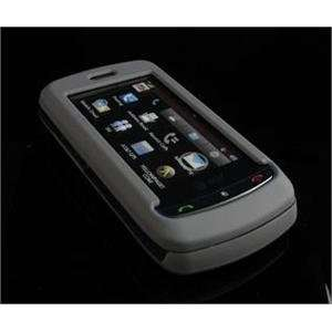 GRAY Hard Plastic Full View Rubber Feel Cover Case w/ Screen Protector