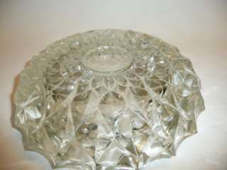 CRYSTAL DETAILED CUT ASH TRAY ANTIQUE VINTAGE OLD NICE RARE FIND HOT