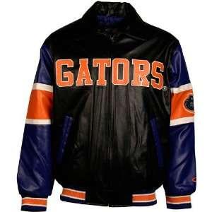 Florida Gators Black Youth Varsity Pleather Jacket