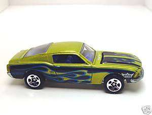 HOT WHEELS 1968 MUSTANG FASTBACK WITH FLAMES HTF