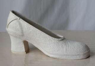 COMME DES GARCONS White Rubber Museum Shoes 3.5 US/5.5
