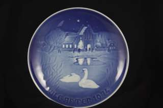 Bing & Grondahl CHRISTMAS 1974 Plate B & G