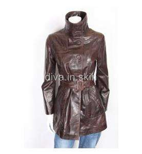 LEATHER LONG WINTER MILITARY TRENCH COAT JACKET TAYLOR MADE SIZE