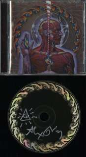 Tool Artist Alex Grey Lateralus Autograph CD w/ Sketch