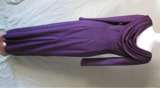 NWOT PLUM FORMAL BRIDESMAID PROM PARTY DRESS GOWN SZ 6