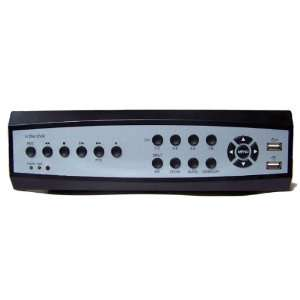 8 Channel Standalone DVR w/ Remote View: Camera & Photo