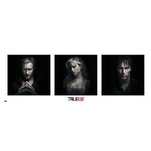 True Blood Sookie Stackhouse Eric Bill Vampire HBO TV Poster 13 x 37.5