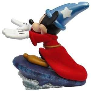 DISNEY Mickey Mouse Fantasia Wizard Sorcerer Apprentice Big Figure