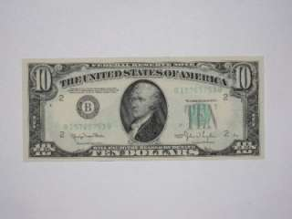 Star Note, 5   1950 Ten Dollar Notes, and 5   1950A Ten Dollar Notes