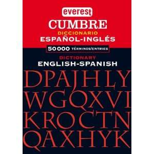 com Everest Cumbre Spanish to English Dictionary (English and Spanish