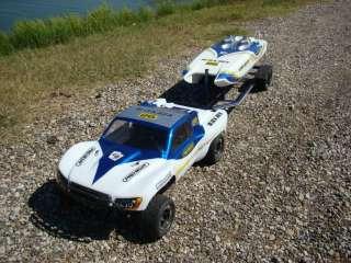 New Custom Aluminum Trailer for Traxxas Spartan Boat