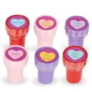 Lets Party By Fun Express Conversation Heart Stamps
