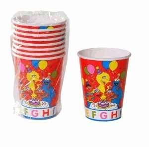 Sesame Street Elmo Big Bird Birthday Party Paper Cups