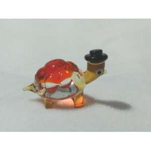 Collectibles Crystal Figurines Red Turtle