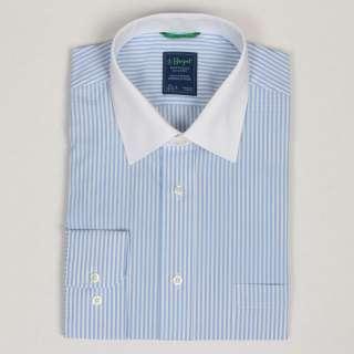 Haspel Mens Striped Dress Shirt