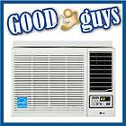 23,500 BTU Window Air Conditioner with Heat and Remote Control