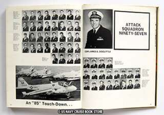 USS CONSTELLATION CVA 64 WESTPAC CRUISE BOOK 1971 1972