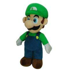 Super Mario Brothers Luigi 9 inch Plush Toy