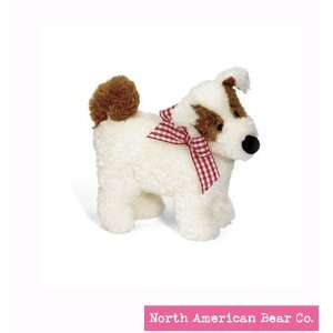 Ollie Terrier Squeaker by North American Bear Co. (2343) Toys & Games
