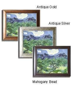 Vincent Van Gogh The Olive Tree Framed Canvas Art