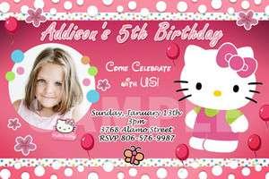 BIRTHDAY PARTY INVITATION PHOTO 1ST CUSTOM BABY SHOWER   INVITES C4