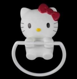Hello Kitty Head Silicone Sucker Hanger Holder Hook bathroom 3D