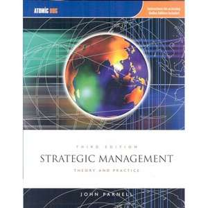Strategic Management Theory and Practice, Parnell, John