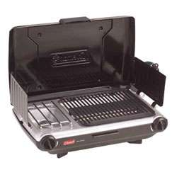 Coleman Two burner Propane Stove/ Grill