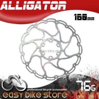 Alligator Disc Brake Rotor in Cirrus 6 160MM 76G BIKE