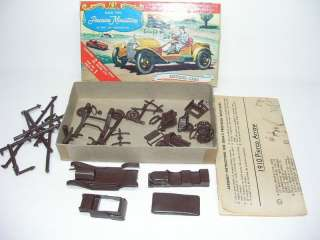 VINTAGE IDEAL PRECISION MINIATURES CAR MODELS IN BOX