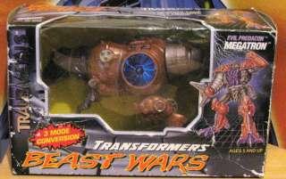 TRANSFORMERS BEAST WARS Megatron 100% complete