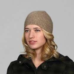 Portolano Womens Cashmere Skull Hat