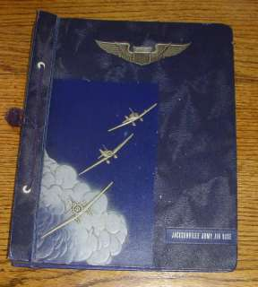 JACKSONVILLE ARMY AIR BASE PHOTOGRAPH ALBUM WWII 1940s