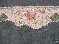Wallpaper Borders 227B22545 Cut Bird Houses