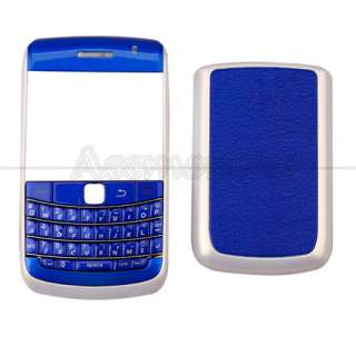Piece Housing for Blackberry BOLD 9780 Blue&White