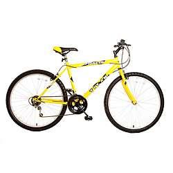 Titan Pioneer Mens Yellow 12 speed Mountain Bike