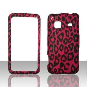 HotPink Leapord Samsung Galaxy Precedent Straight Talk Phone Cover