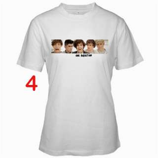 One Direction Fans T Shirt S XL   Assorted Style