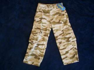 NWT Boys Gymboree Tractor camo pants jeans 18 24 months